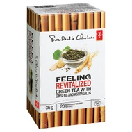 Green tea with ginseng and astragalus from President's Choice