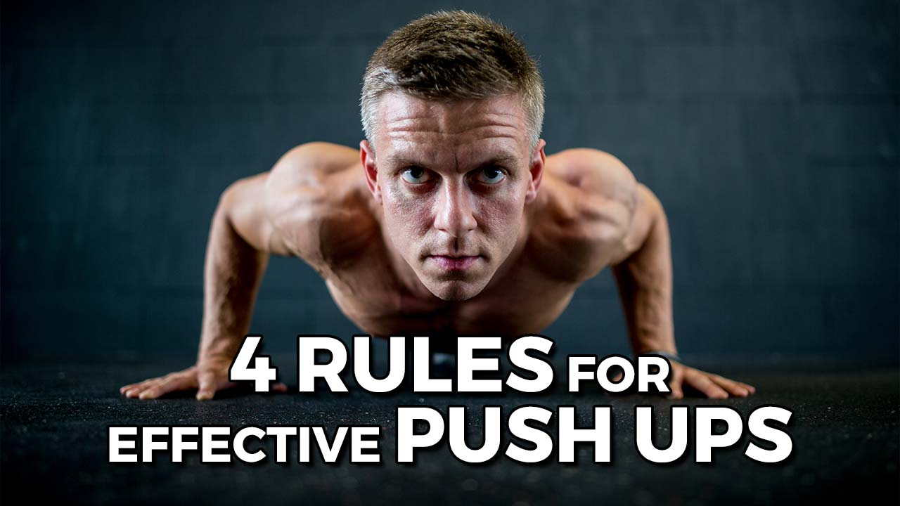 Cali Move | 4 Rules for Effective Push Ups