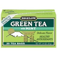 Green Tea with Mint from Bigelow