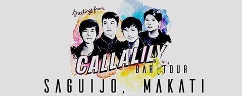 Callalily Bar Tour