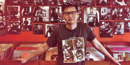 RRR this week — we explore a day in the life of a record store manager in Singapore
