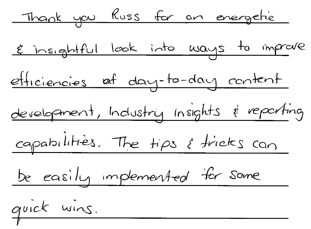 digital Marketing skills testimonial