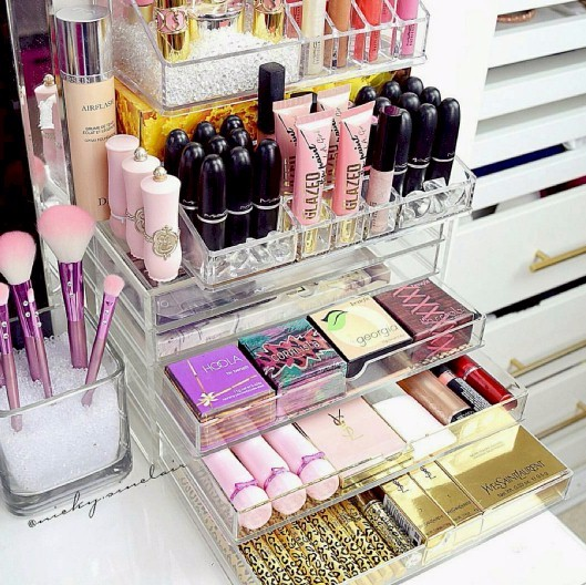 Table Top Makeup Drawers - Organize & Grow Your Makeup Collection
