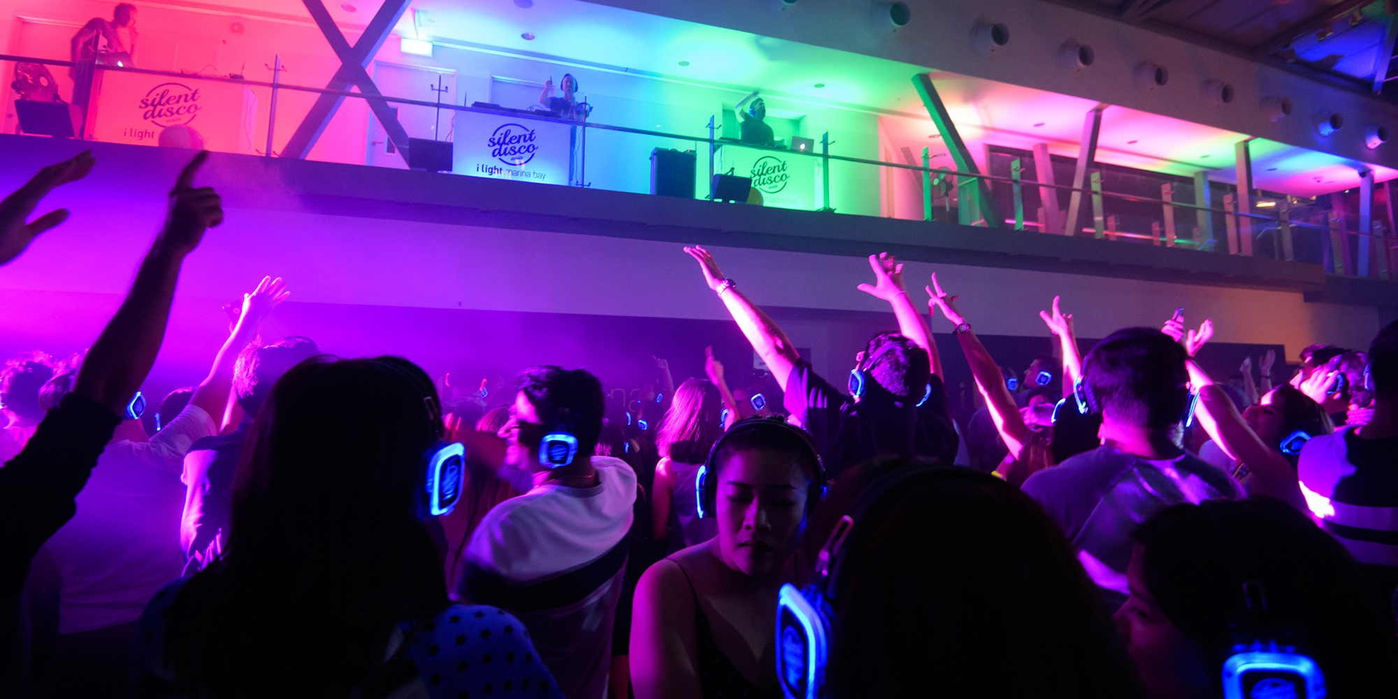 Silent Disco Asia returns with a New Year's Eve party at ArtScience Museum