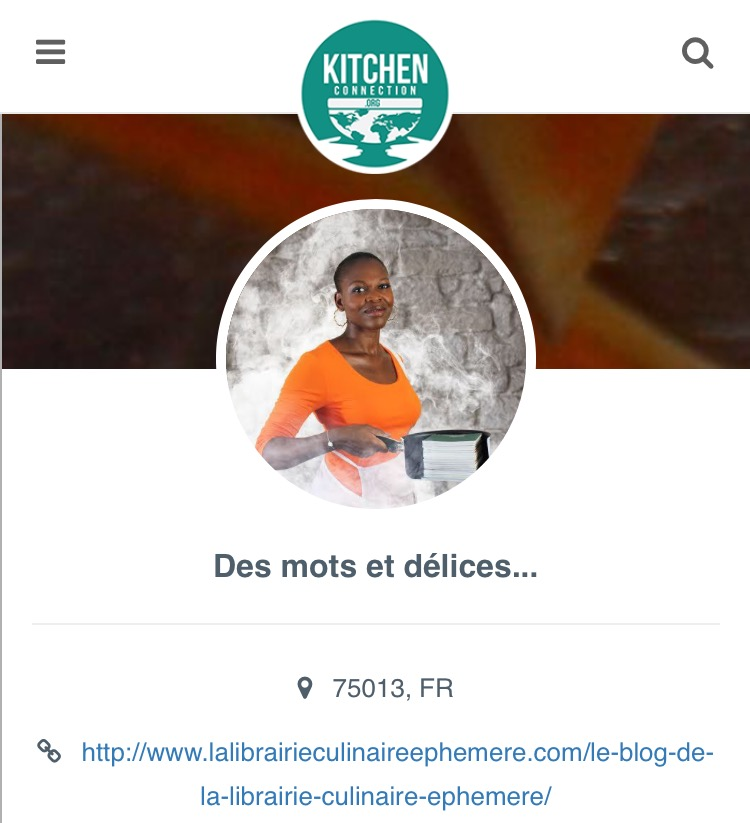 Kitchen Connection Posts: Featured Cheffie: Marianne From Senegal