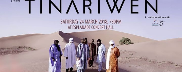 Tinariwen in Singapore
