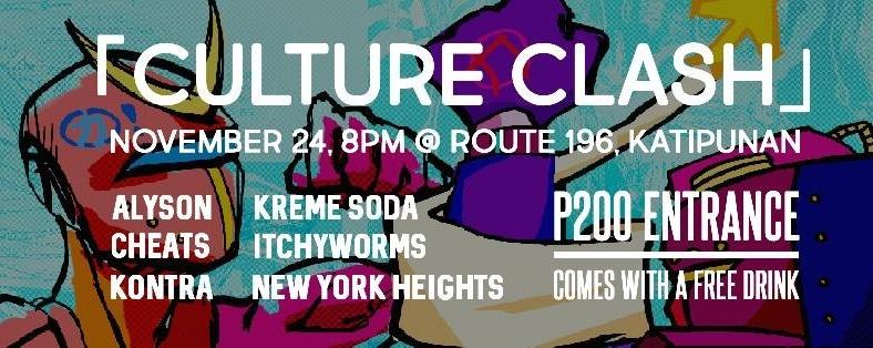 Culture Clash! at Route 196