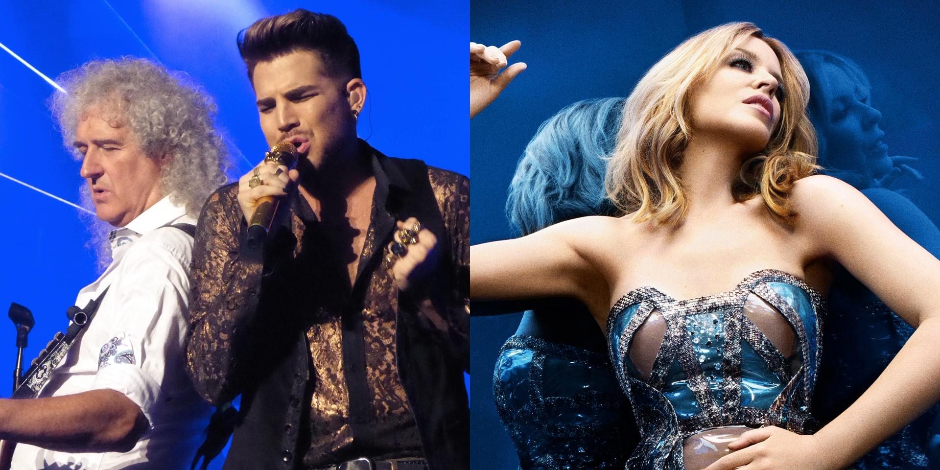 Kylie Minogue, Queen + Adam Lambert, Bastille, among first wave of acts for Singapore GP 2016