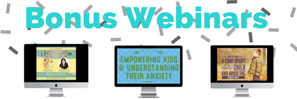 bonus webinars emotion coaching course
