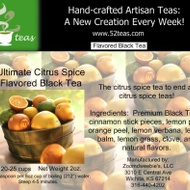 Ultimate Citrus Spice Flavored Black from 52teas