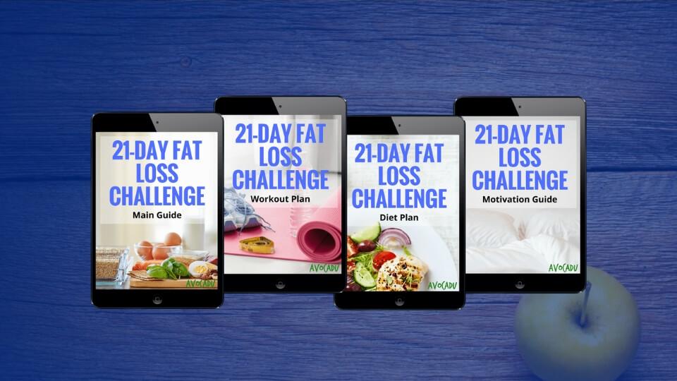 21-Day Fat Loss Challenge | Avocadu