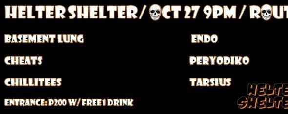 Helter Shelter: Halloween Gig