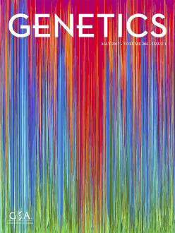 Cover of GENETICS journal