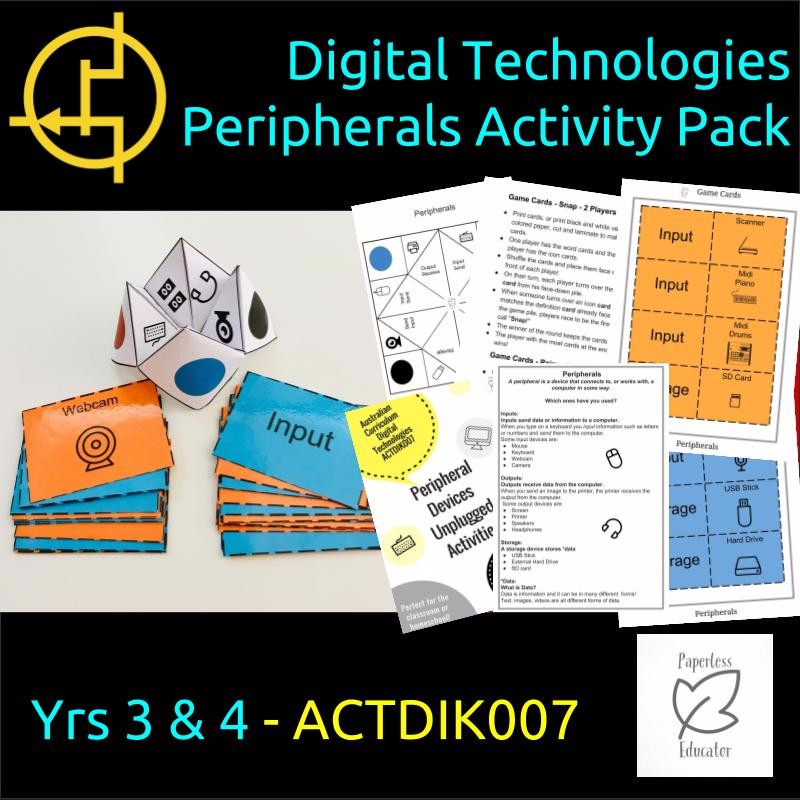 Cover Of Peripherals Activity Pack