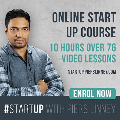 #Startup with Piers Linney