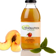 Tēvolution / Tevolution White Tea with Peach from Purpose Beverages, Inc.