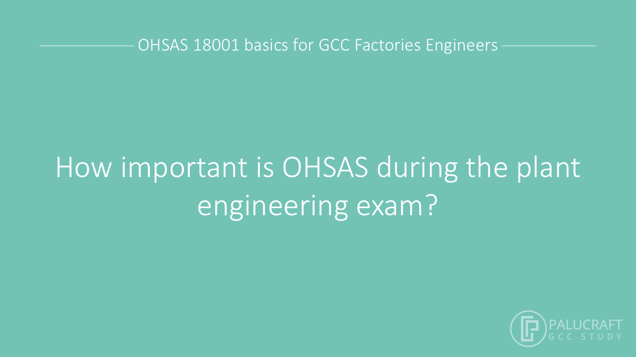 OHSAS in the exam mp4