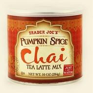 Pumpkin Spice Chai Tea Latte Mix from Trader Joe's