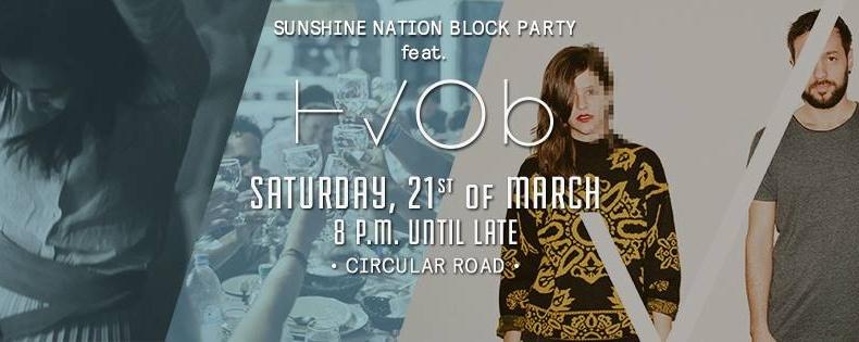 SUNSHINE NATION BLOCK PARTY feat. HVOB (AUT)