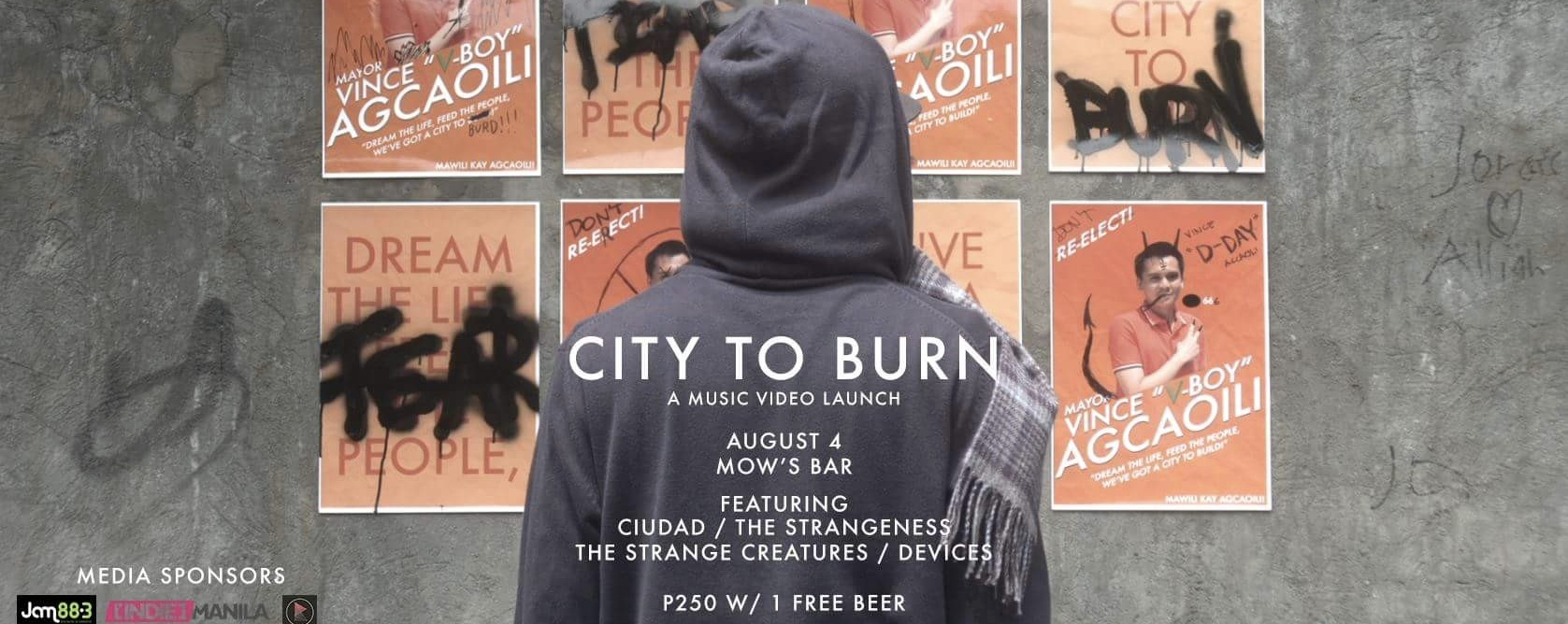 """At The Moment's """"City to Burn"""" MV Launch"""