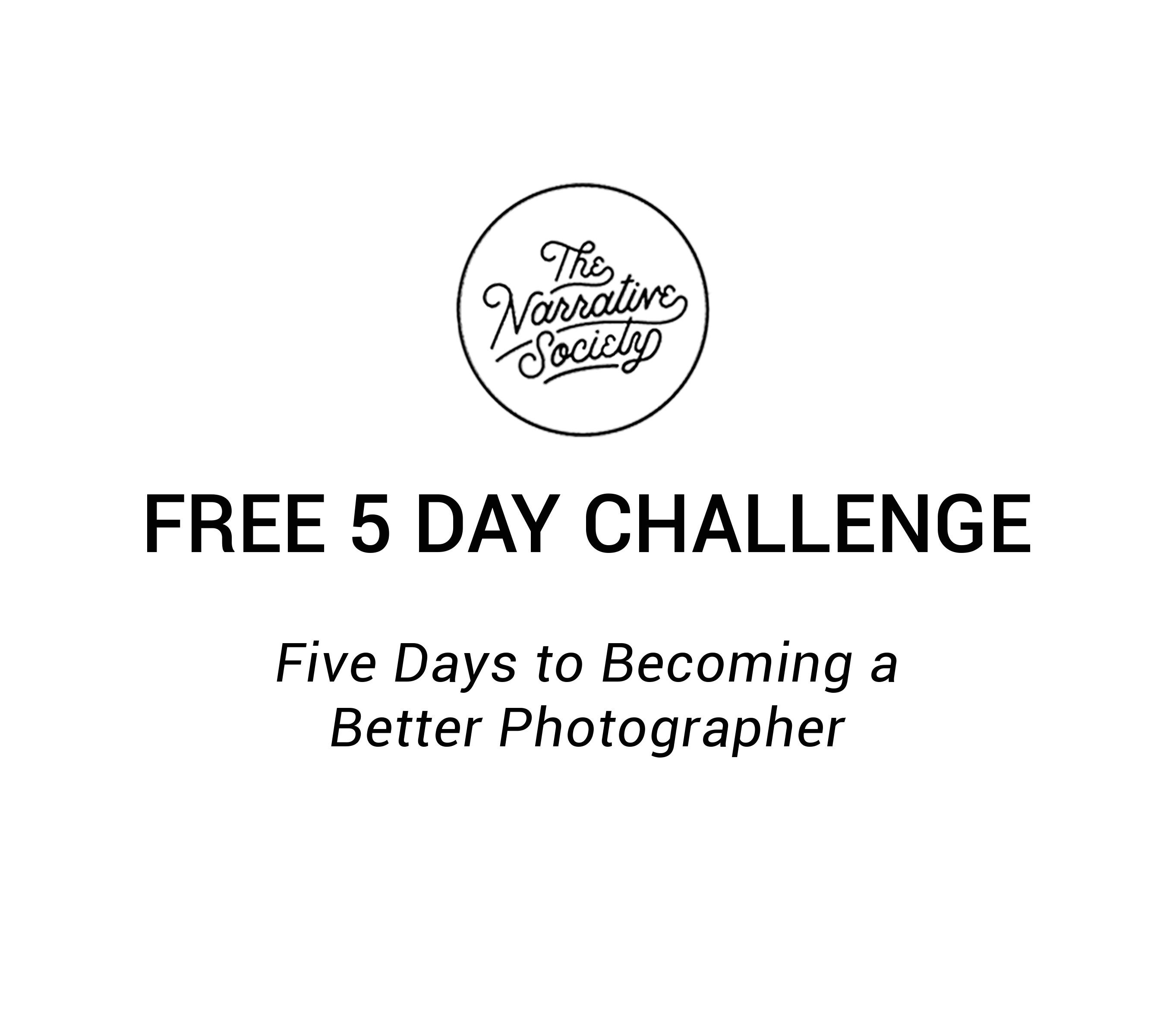 Becoming a better photographer