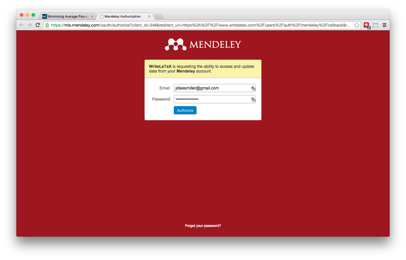 Overleaf Writelatex Mendeley reference bibliography import screenshot 4