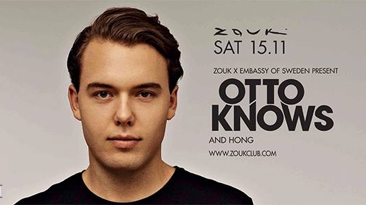 ZOUK x EMBASSY OF SWEDEN pres. OTTO KNOWS and HONG