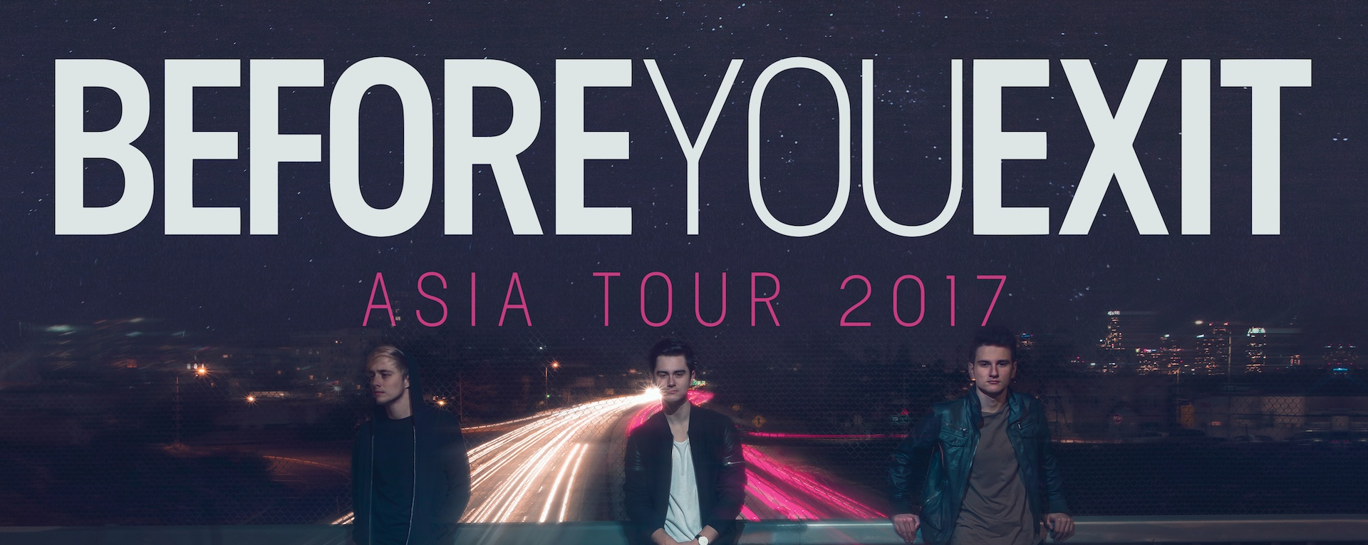 Before You Exit live in Singapore