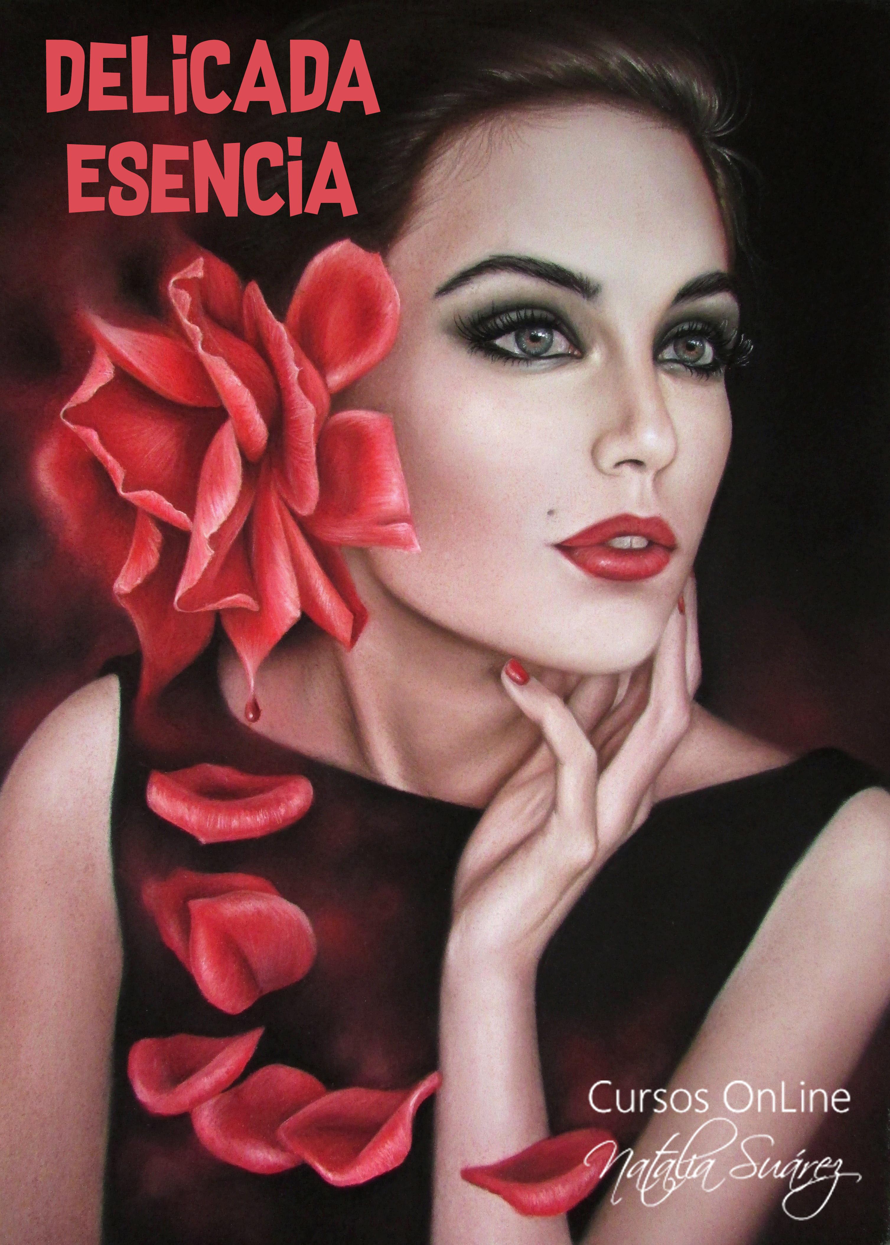 Delicada Esencia - Nivel 1 Retratos - Pastel Studio