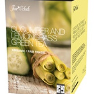 Cucumber and Lemongrass Green Tea from Four O'Clock Organic