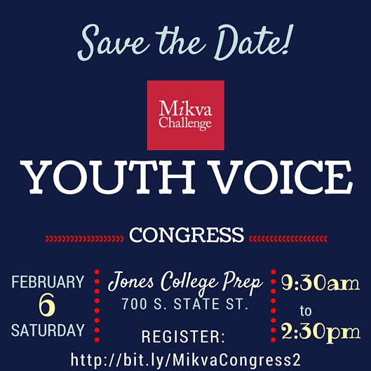 Mikva Youth Voice Congress