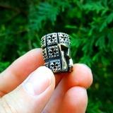 Lion Armory Templar Lanyard Bead in Brass