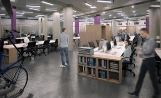 Pressvine new offices in Leonard Street, Shoreditch