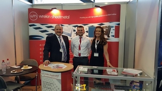 Wrekin Sheet Metal at the Made in the Midlands Exhibition