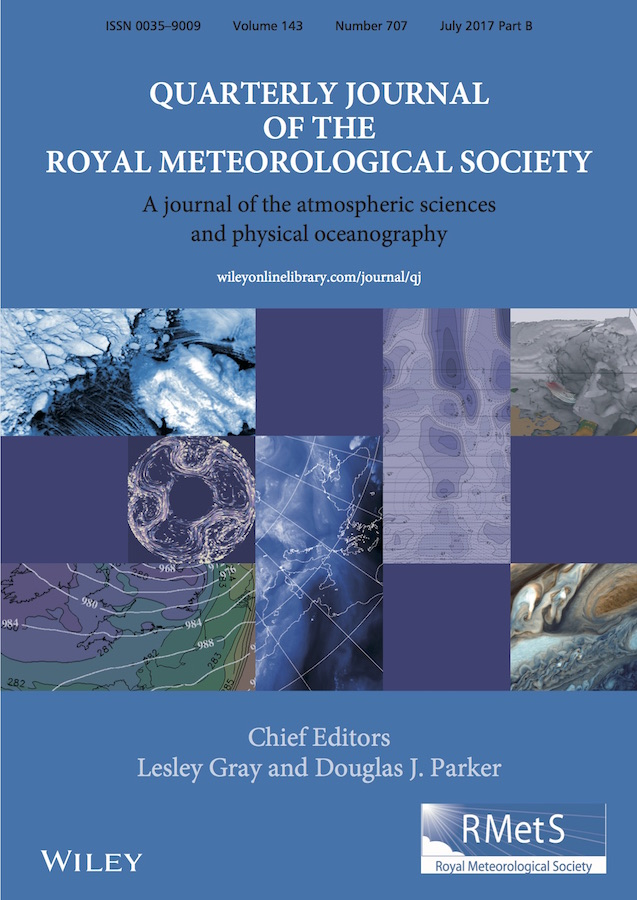 Template for submissions to Quarterly Journal of the Royal Meteorological Society (QJRMS)