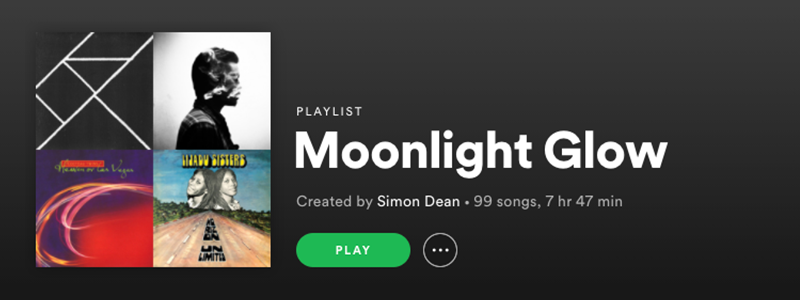 Moonlight Glow Playlist