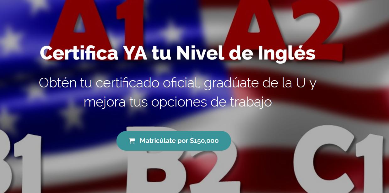 Certifica YA tu Nivel de Inglés