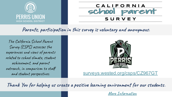 PHS Healthy Kids Parent Survey