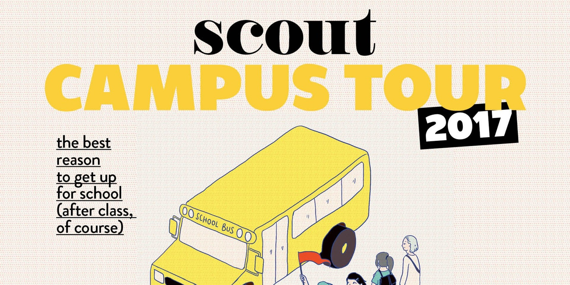 Scout kicks off this year's campus tours in UP Diliman