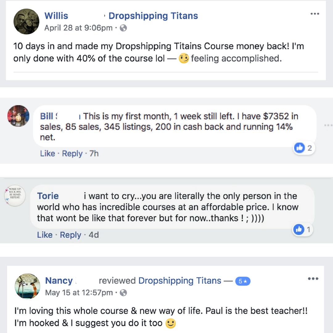 Build passive income by selling on eBay | Dropshipping Titans