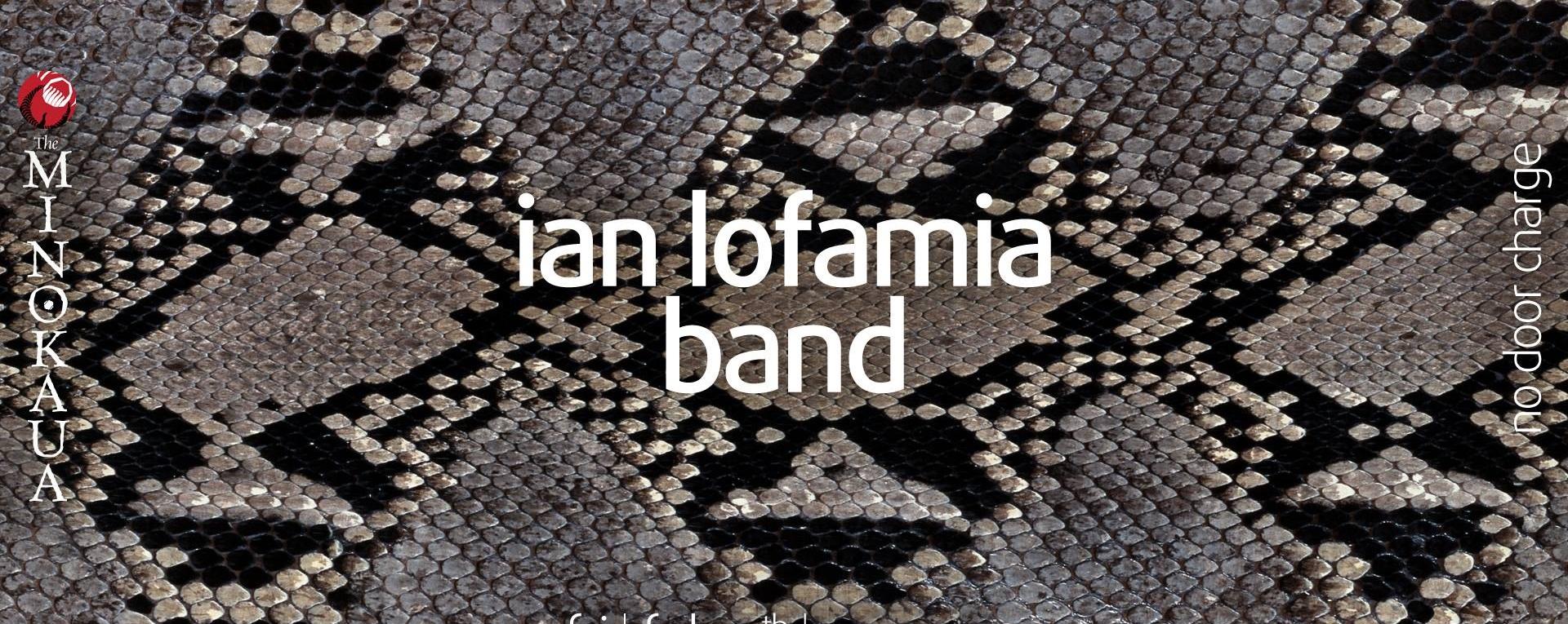 Blues Friday with the Ian Lofamia Band