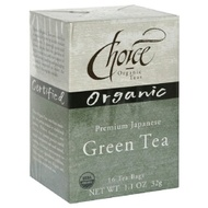 Premium Japanese Green Tea from Choice Organic Teas