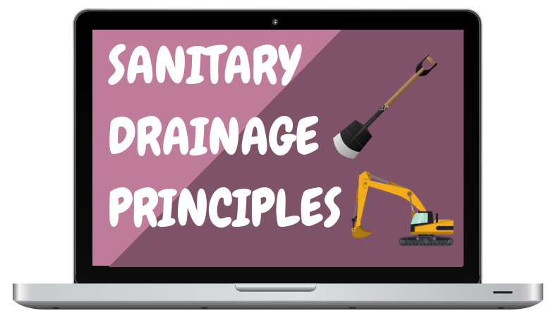 Certifying Plumbing Exam Refresher Course - Sanitary Drainage Principles