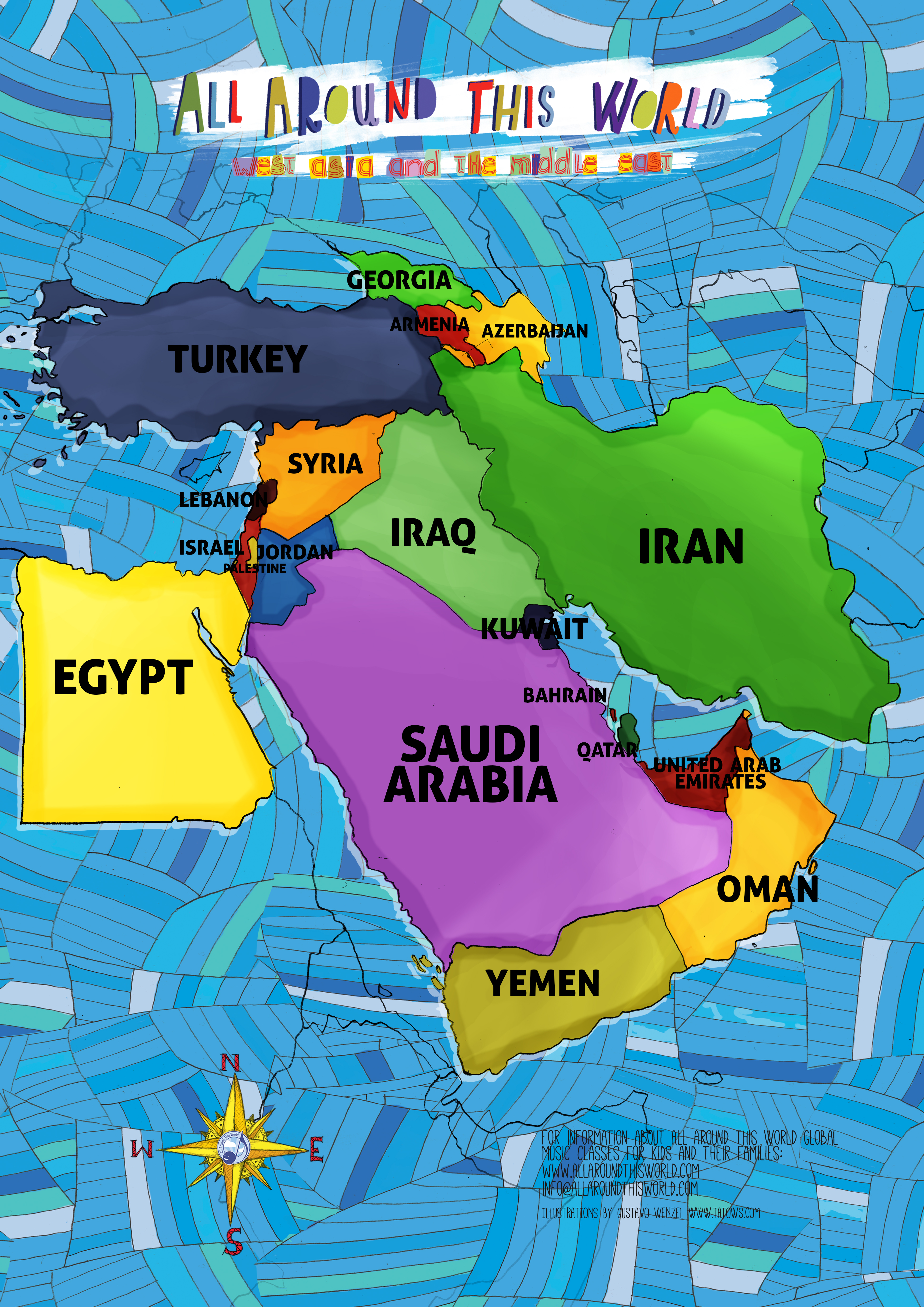 All Around This World West Asia and the Middle East