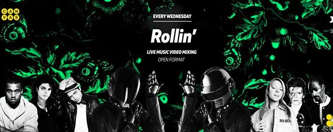 Rollin' - Live Music Video Mixing