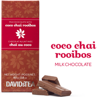 Coco Chai Rooibos Milk Chocolate from DAVIDsTEA