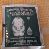 Genmaicha Extra Green Tea in Pyramids tea bags (Green Sampler Pack) from Den's Tea