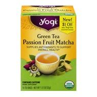 Green Tea Passion Fruit Matcha from Yogi Tea