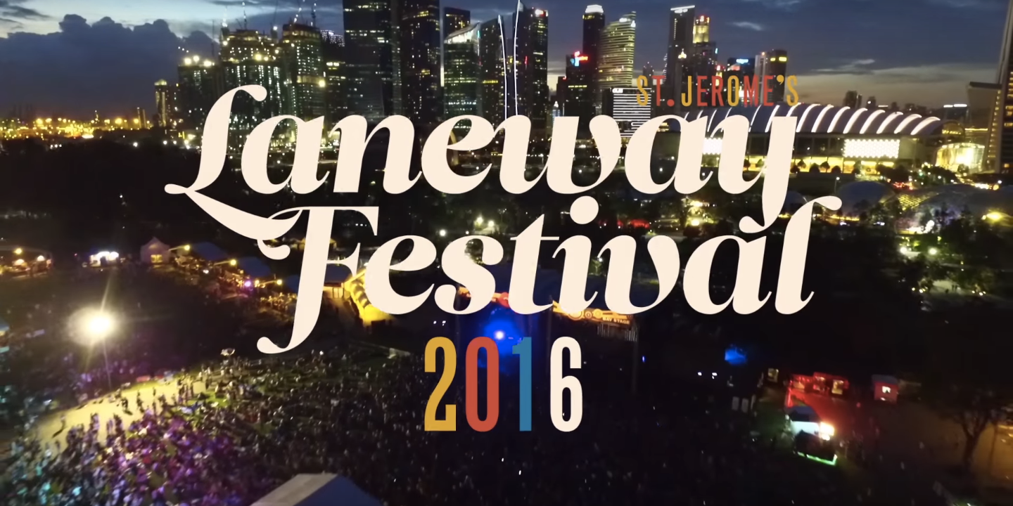 WATCH: Laneway Festival Singapore's official video recap of 2016 edition