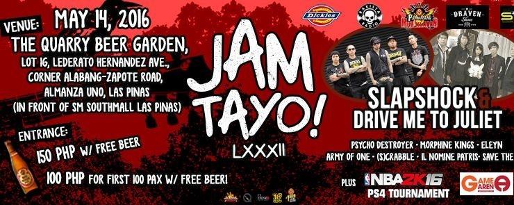 RJAM Tayo lxxxii Feat. SLAPSHOCK & DRIVE ME TO JULIET